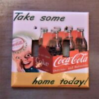 COCA COLA 6 PACK VINTAGE DESIGN DOUBLE Light Switch Plate Cover