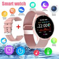 Women Smart Watch Waterproof Heart Rate Blood Pressure Monitor for iOS Android $28.98