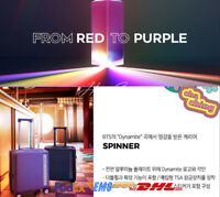 BTS BTS X SAMSONITE RED to PURPLE Carrier 18in Official Goods