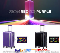 BTS BTS X SAMSONITE RED to PURPLE Carrier 22in Official Goods