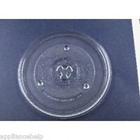 UNIVERSAL SHARP MICROWAVE TURNTABLE Glass Plate Dish 270mm 27cm 10.5quot; GBP 11.50