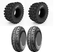 Four 4 CST Ambush ATV Tires Set 2 Front 22x7-10 & 2 Rear 22x10-9 Cheng Shin