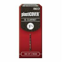 Rico PlastiCOVER Bb Clarinet Reeds, Strength 3.5, 5-pack  RRP05BCL350
