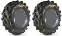 Pair 2 High Lifter Outlaw MST 25x11-12 ATV Tire Set 25x11x12 25-11-12
