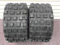 20X10-9 REAR TIRE SET AMBUSH ATV TIRES HONDA TRX 250R 250X 250EX TRX450ER 4PR