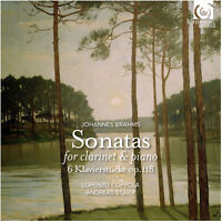 J. Brahms / Lorenzo - Sonatas for Clarinet and Piano Klavierstucke [New CD]