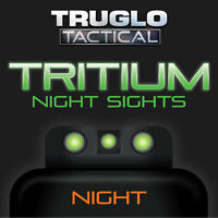 TRUGLO Brite-Site Tritium Handgun / Pistol Night Sights  Green FITS S