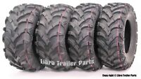 Honda Recon 250 Set 4 ATV Tires 22x7-11 Front  22x10-9 Rear 6PR 10250/10251 Mud
