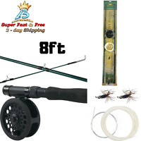 Fly Fishing Combo Kit Rod And Reel Combos Camping Fishing Gear And Equipment