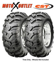 Honda Atv Rancher 350 400 420 Tires 24x10-11 CST MAXXIS ANCLA Set of 2 Rear 4x4