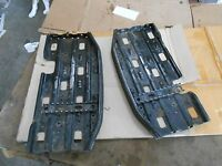 Polaris 250 Trail Blazer 2002 02 ATV 4 wheeler floor boards foot rests pegs