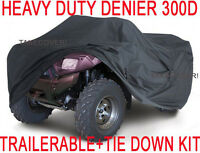 Polaris Sportsman 500 600 700 ATV Trailerabl​e Cover HEAVY DUTY+TIE DOWN KIT X1