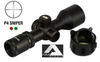 3-9x40-Compact-Scope w/Rings-&-covers-&-base-Mount fits Ruger 10/22