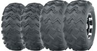 Set of 4 WANDA ATV UTV Tires 22x8-10 Front & 25x12-10 Rear 6PR