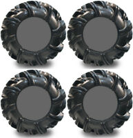 4 High Lifter Outlaw2 ATV Tires Set 2 Front 34.5x10.5 16 amp; 2 Rear 34.5x10.5 16