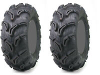 Pair 2 Maxxis Zilla 22x10-9 ATV Tire Set 22x10x9 22-10-9