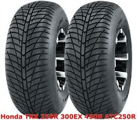 (2) Honda TRX 250R 300EX 450R ATC250R  Rear 20x10-9 20x10x9 Hi-Speed ATV Tires