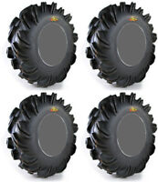 4 High Lifter Outlaw ATV Tires Set 2 Front 28x9.5-12 & 2 Rear 28x12.5-12