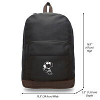 07b69e039c Snoopy Joe Cool Teardrop Backpack with Leather Bottom Accents