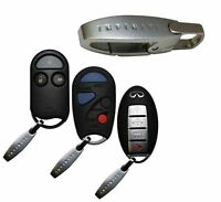 Prox Smart With Infiniti Logo Valet Key Remote Chain Dongle Clip Ring Accessory $9.99