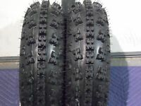 HONDA TRX 250R QUADKING SPORT ATV TIRES ( FRONT 2 TIRE SET ) 21X7-10 ( 21