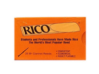 Rico Bb Clarinet Reeds (Previous Packaging) - 25 Per Box