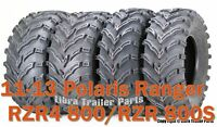 11-13 Polaris Ranger RZR4 800/RZR 800S ATV Tire Set 27x9-12 & 27x11-12 /6PR