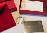 Starbucks Coffee Shop 2014 Sterling Silver Gift Card,$50 Canadian On Card,RARE