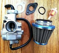 Carburetor Set for PZ20 20mm 49CC 50CC 70CC 90CC 100CC 125CC ATV QUAD DIRT BIKE