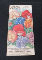 1929 Sunset Seed and Nursery Company Garden Hardware Catalog San Francisco CA