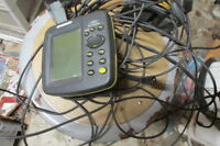 USED HUMMINBIRD 161 GPS FISH FINDER WORKS GREAT WITH TRANSDUCER