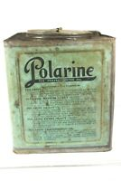Antique Standard Oil Polarine Service Station 25 Lbs Transmission Grease Can HTF