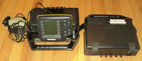 HUMMINBIRD WIDE PORTABLE FISH FINDER with Case ~ Untested