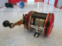 VINTAGE 35th anniversary ABU GARCIA AMBASSADEUR 5000 FISHING REEL RED
