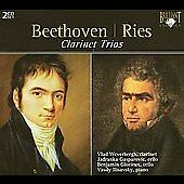 Beethoven, Ries: Clarinet Trios (CD, Mar-2008, 2 Discs, Brilliant Classics)
