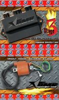 Yamaha Grizzly 660 CDI Ignition Monster Coil+ REV BOX  aftermarket AMRRACING S3