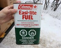 VINTAGE COLEMAN Easi Lite TIN CAN STOVE HEATER LANTERN FUEL GAS OIL
