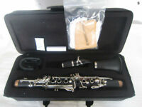 Yinfente Excellent Eb key Clarinet Ebonite Good material Sweet sound Case