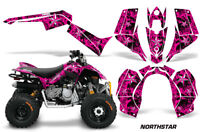ATV Graphics Kit Quad Decal Sticker Wrap For Can-Am DS90 2007-2018 NORTHSTAR PNK