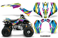 ATV Graphics Kit Quad Decal Sticker Wrap For Can-Am DS90 2007-2018 FLASHBACK