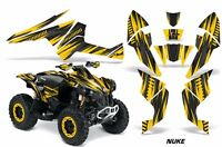 ATV Decal Graphics Kit Quad Wrap For Can-Am Renegade 500 X/R 800X/R 1000 NUKE Y