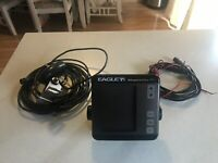 EAGLE Magna VIEW Fish Depth Finder Untested Free Shipping