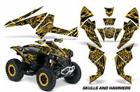 ATV Decal Graphics Kit Quad Wrap For Can-Am Renegade 500 X/R 800X/R 1000 HISH Y