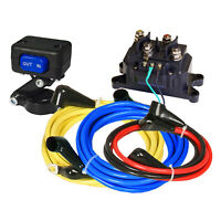 KFI ATV-WK Universal ATV Winch 12V Wiring Kit w/ Mini-Rocker Switch HD Contactor