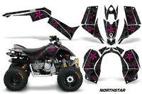 ATV Graphics Kit Quad Decal Sticker Wrap For Can-Am DS90 2007-2018 NSTAR PNK BLK