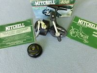 RARE VINTAGE MITCHELL 408 SPINNING REEL - THAT LOOKS COMPLETE NEW IN THE BOX