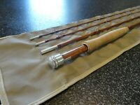 """New"" Vintage Bamboo Fly Rod – 8' 3"