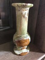 Onyx Vase Made In Pakistan 9""