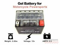 Maintenance Free 12V Gel Battery YTX5L-BS For ATV CAN-AM Outlander 300CC 2004-05