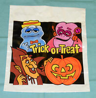 vintage monster cereal FRANKENBERRY COUNT CHOCULA BOOBERRY TRICK-OR-TREAT BAG